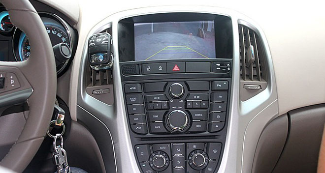 car dvd rearview