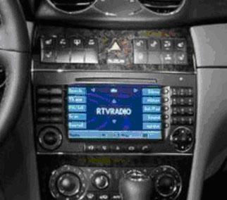 Benz C-Class W203 original CD