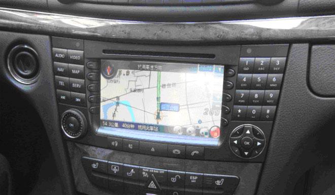 Benz CLS W219 original CD