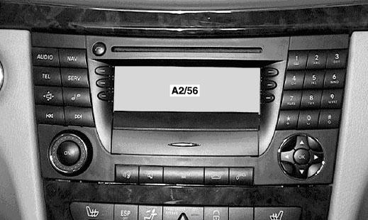 Benz E-Class W211 original CD