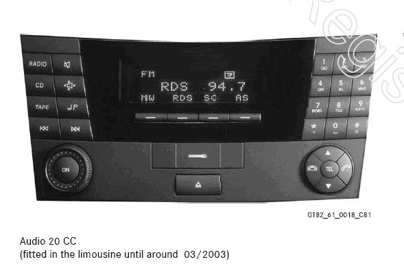 Benz E original CD