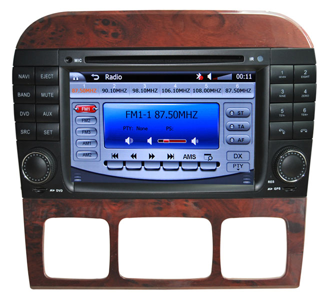 car dvd gps navigation Benz S-W220