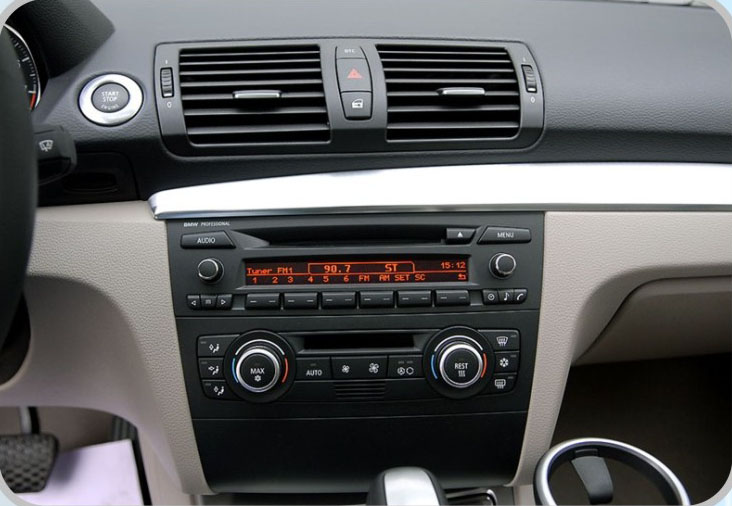BMW automatic air-conditioneroriginal cd before install