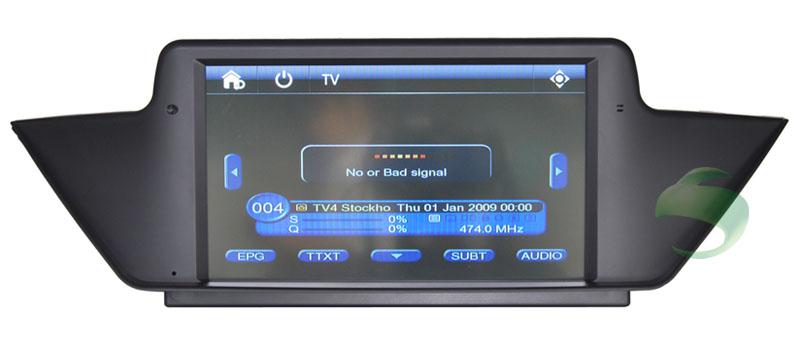 BMW X1 E84 gps navigation