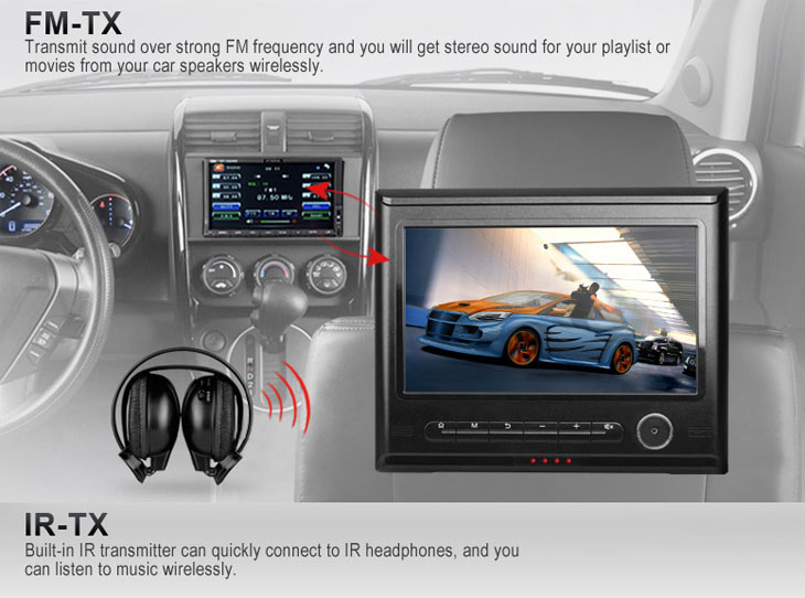 The Best 9 inch Android Car Headrest Tablet Monitor