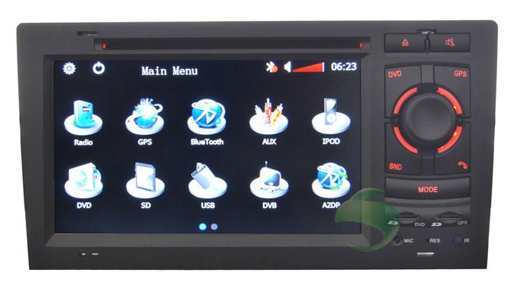 AUDI A8 car radio