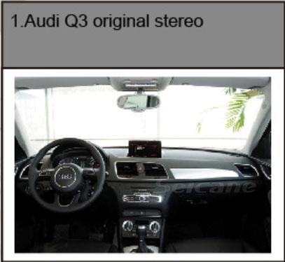 Audi Q3 2012 2013 Gps Navigation System Installation Car Dvd