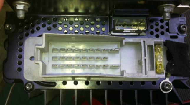 Mercedes-Benz special optic fiber amplifier