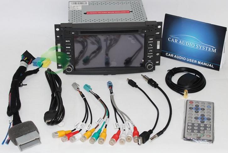 Upgrade Hummer H3 Sat-Navi GPS Navigation System 2006 2007 2008 2009