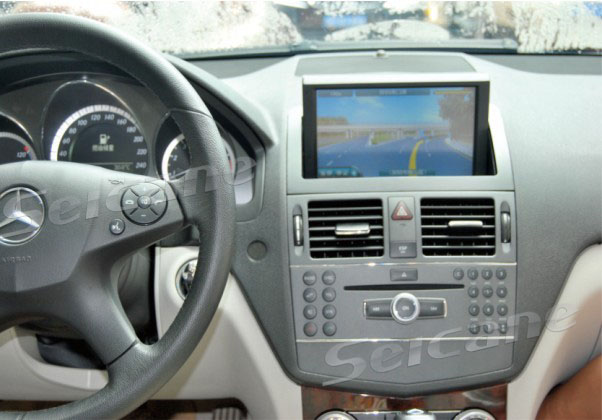 The navigation entertainment system for C200