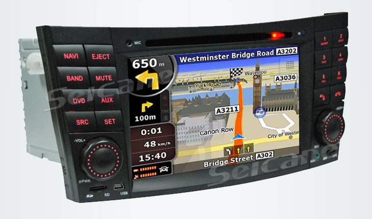 Built in GPS navigation system