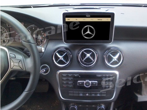 Mercedes Benz A/B class Navigation System Installation Manual