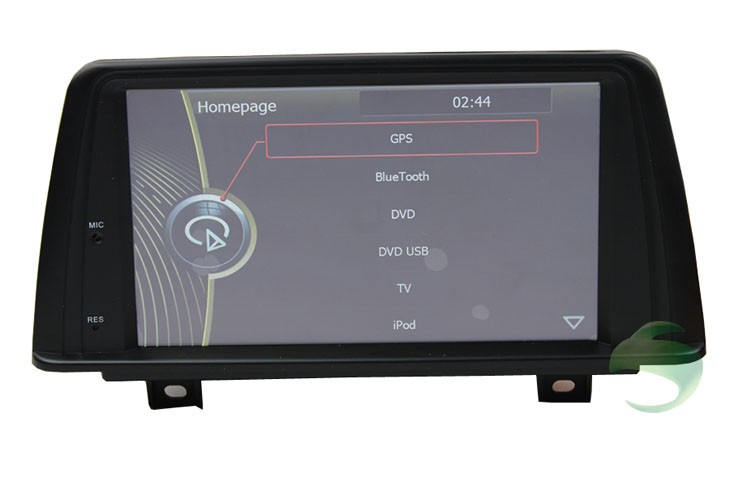 BMW 1 Series F20 GPS navigation homepage