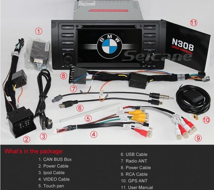 BMW X5 E53 DSP | car dvd player blog - seicane com