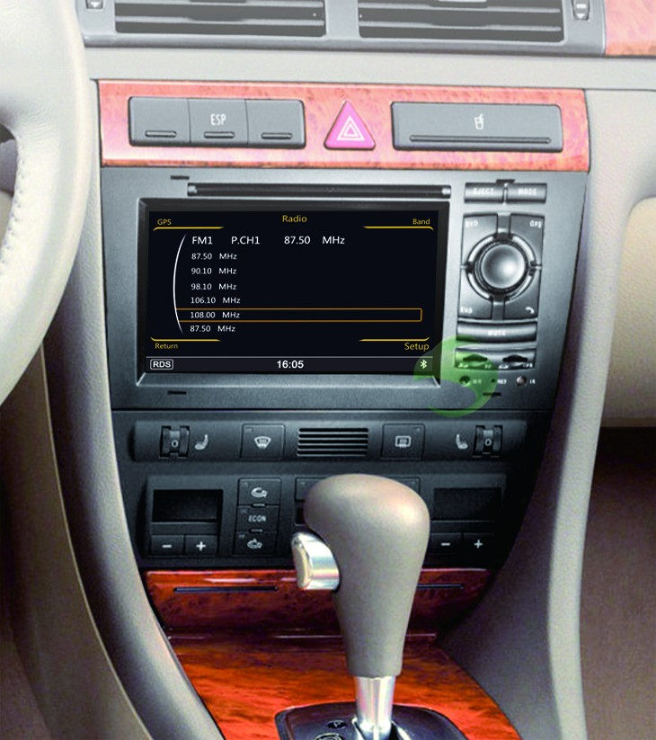 The perfect combination of this DVD player and Audi A6 S6 RS6