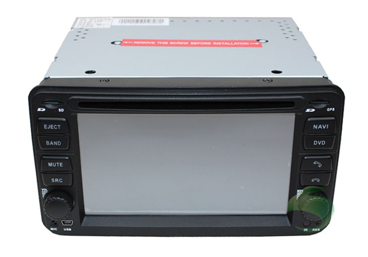 The single unit of car DVD with GPS