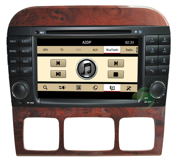 car DVD player with Bluetooth function