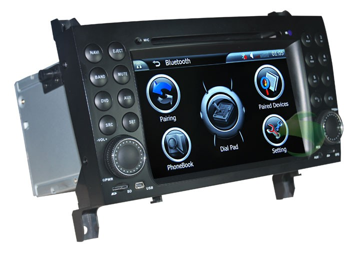 The bluetooth music for Mercedes-Benz SLK DVD player