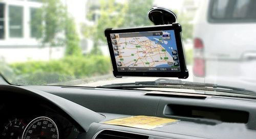 Another style of car DVD player GPS navigation system