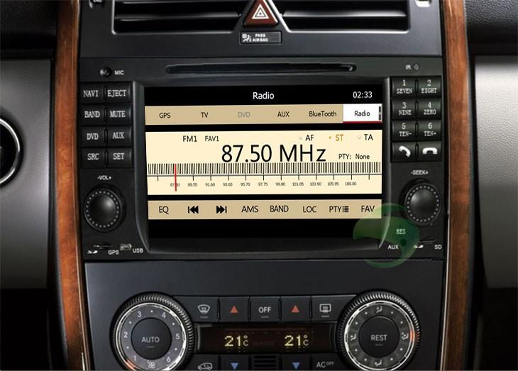 Car DVD Player after installation
