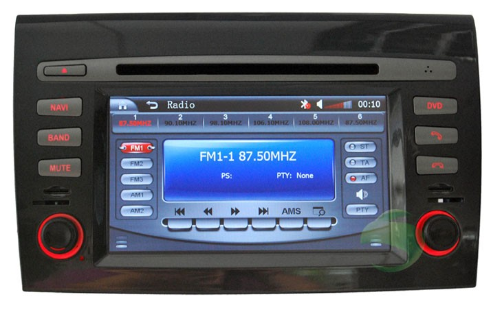 Car DVD with radio function