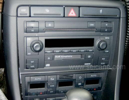 The original car's CD photo