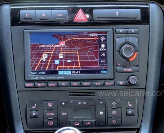 The original car's DVD photo