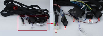 Car Nav amplifier connection