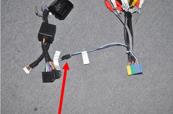 Car Radio Sat Navi steering wheel control wire connection