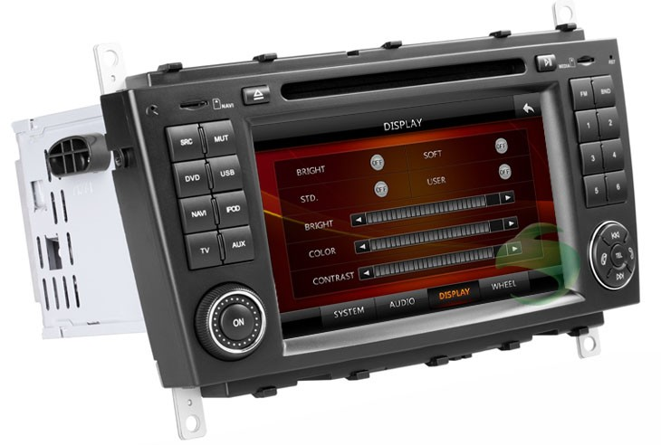 Car DVD Player with GPS head unit