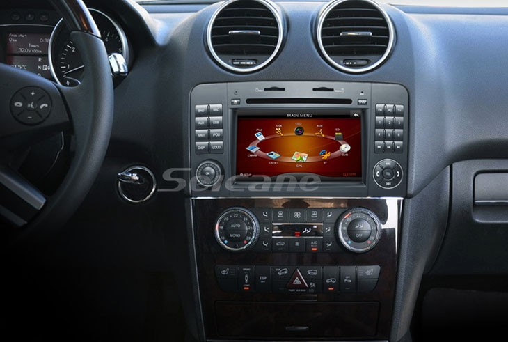 Car Radio Head Unit after installation