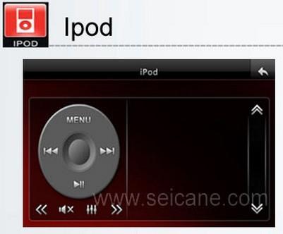 Car Radio DVD player Ipod function