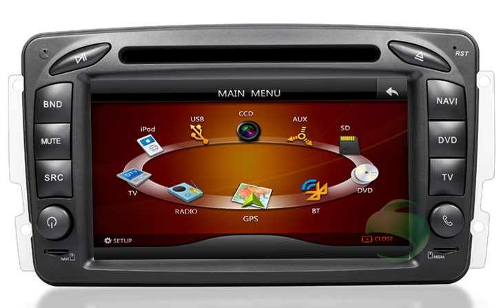 The unique nav machine for car