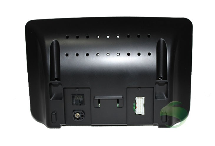 The back of Android car DVD player head unit