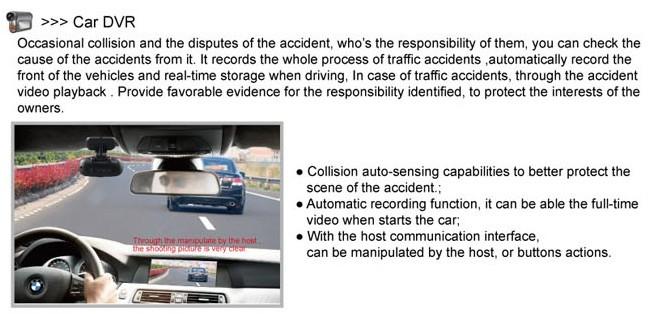 DVR function of the best Car Radio Upgrade sat navi system