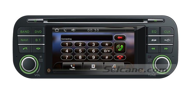 Bluetooth function of Car Radio GPS DVD for 1999-2004 Jeep Grand Cherokee