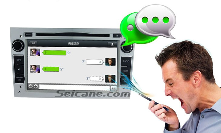 New Upgraded Android 4.4.4 Car DVD Head Unit for 2005-2011 Opel Zafira voice chat