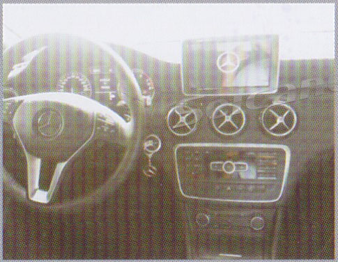 Android 4.4 2012 2013 Mercedes Benz A Class W176 B Class navigation installation guide