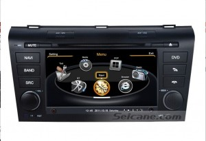 car stereo autoradio with gps bluettoth touch screen
