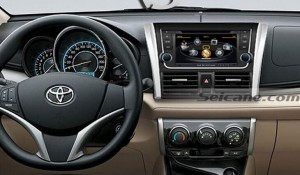 new unit after upgrade,audio  stereo GPS of 2013 2014 Toyota Yaris