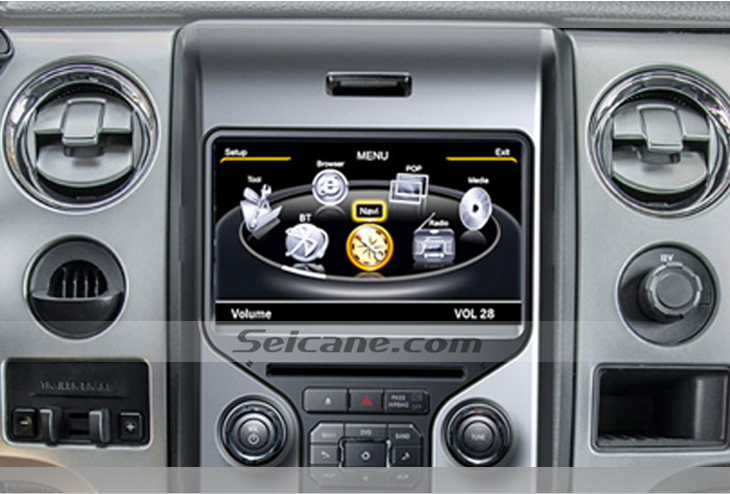 Head Unit After Installationradio Gps Navigation System With G Wifi Of