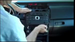 Remove original CD player