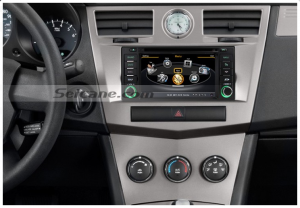 The aftermarket car stereo DVD GPS nav system of 2007 2008 2009 2010 Jeep Wrangler Unlimited
