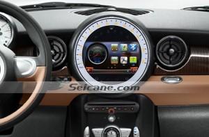 2009-2015 BMW Mini Cooper radio after installation