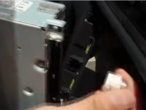 2013-2015 VW Santana radio removal step 4