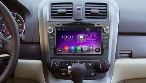 2006-2011 Honda CRV Radio after installation