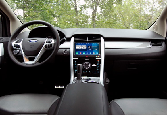 How To Install 2013 2014 Ford Edge Radio With Dvd Navigation Touch Rhseicane: Ford Edge Radio Replacement At Gmaili.net