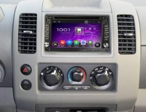2005-2010 Nissan PATHFINDER Radio after installation