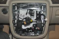 2005-2012 Mercedes Benz GL Class X164 head unit installation step 6
