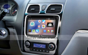 2012 Geely Emgrand EC7 car stereo after installation